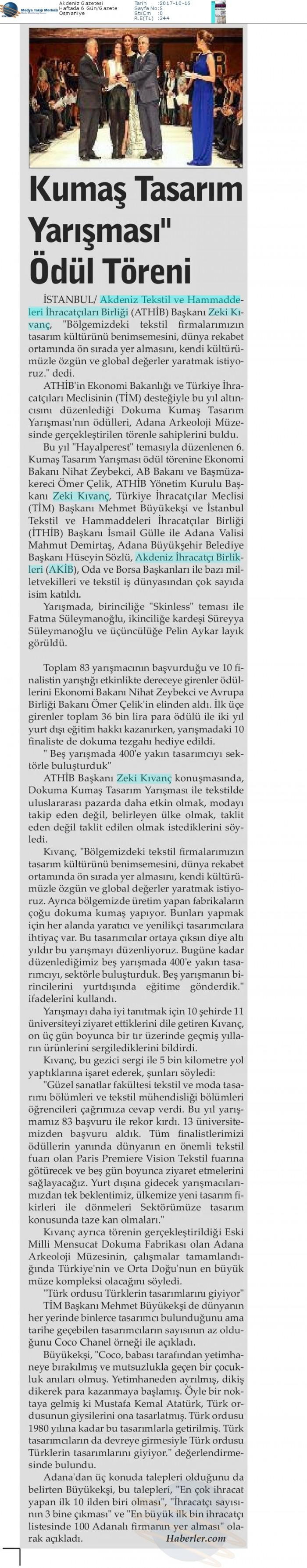 Akdeniz_Gazetesi-KUMAŞ_TASARıM_YARıŞMASı__ÖDÜL_TÖREN-16.10.2017