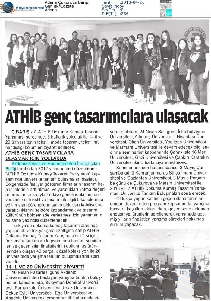 Adana_Çukurova_Barış-ATHİB_GENE_TASARIMCILARA_ULAŞACAK-26.04.2018