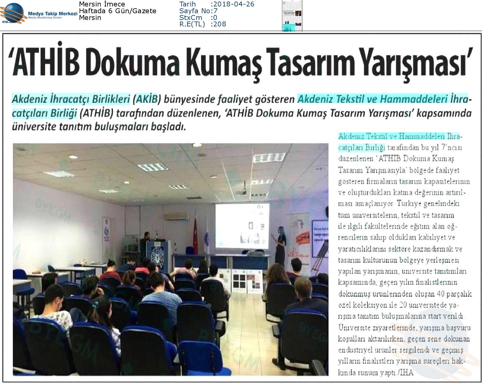 Mersin_İmece-_ATHİB_DOKUMA_KUMAŞ_TASARIM_YARIŞMASI_-26.04.2018