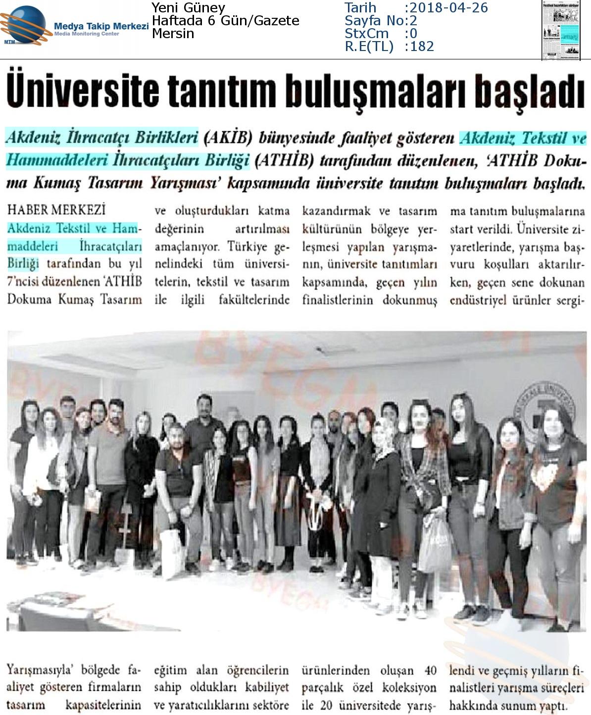 Yeni_Güney-ÜNİVERSİTE_TANITIM_BULUŞMALARI_BAŞLADI-26.04.2018